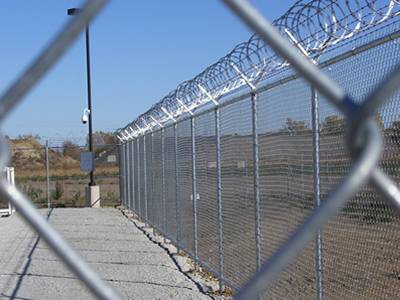 Chain Link Fences Chain Link Gate And Chain Fence Accessories