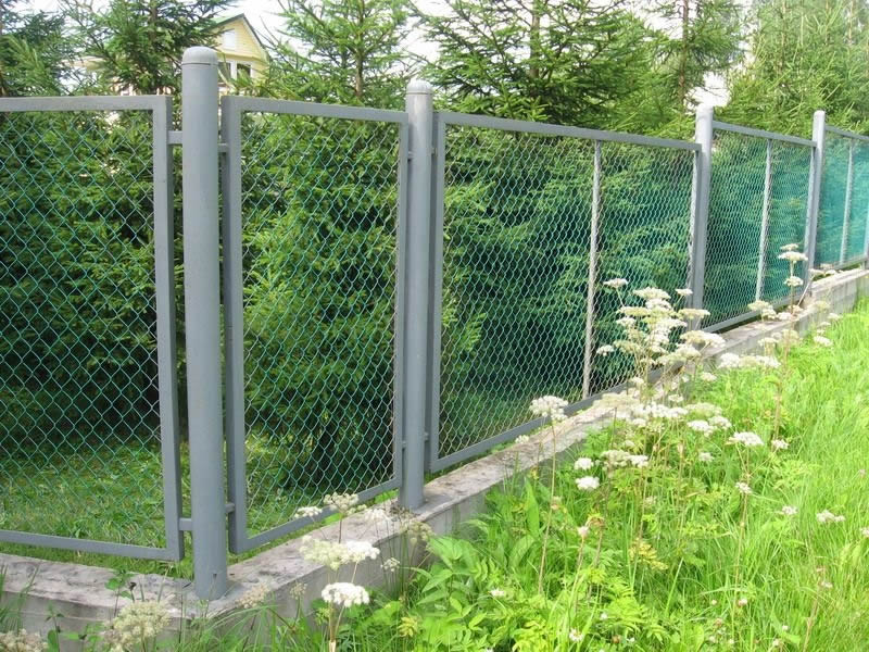 Post For Chain Link Fences Is Called Mycoffeepot Org