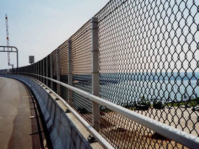 Chain Link Fence For Road Fence Storehouse Sports Yard
