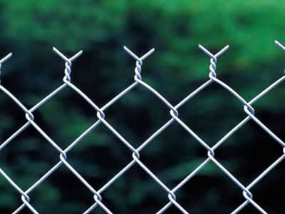 stainless steel Chain Link Fence with twist edge