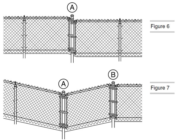 Chain link fence installation tools processing and tips for Fence installation tips