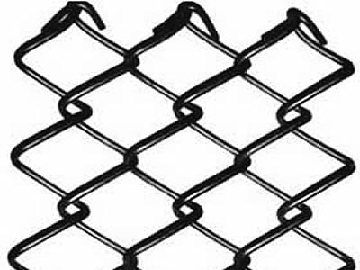 Chain Link Fence Fabric – Black, Galv, PVC, or Aluminum Coated