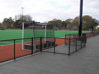 Preferred Range Of Chain Link Fabric For Sports Ground Fencing