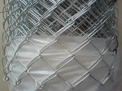 Galvanized After Weaving Chain Link Fence Photo And