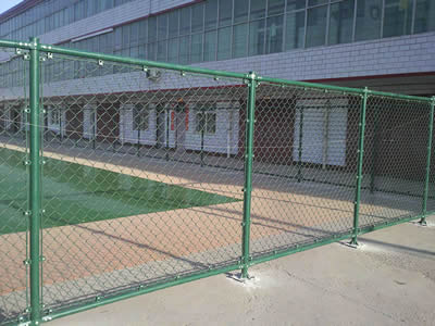 Pvc Coated Chain Link Fence Attractive Sport Fence