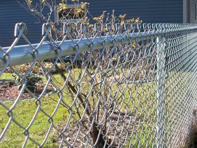 Chain Link Fence System Pvc Or Galvanized