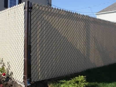 Image Result For Black Chain Link Fence Tension Wire