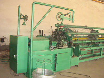 Full-automatic Chain Link Fencing Machine