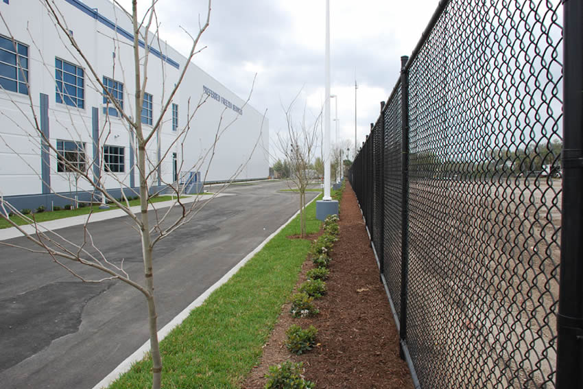 Industrial And Commercial Chain Link Fencing