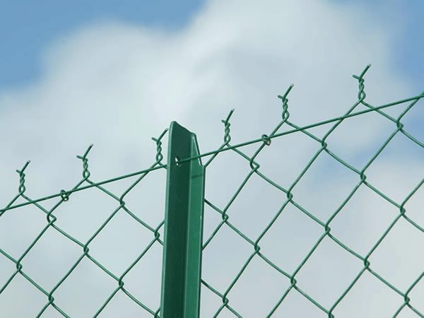 Twist Type Chain Link Fence