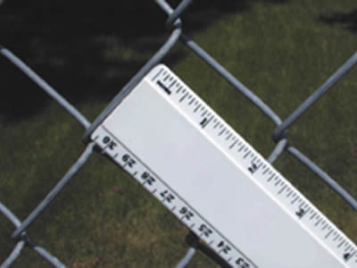 How To Measure Chain Link Mesh Opening