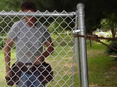 Tightening Chain Link Fences Procedure